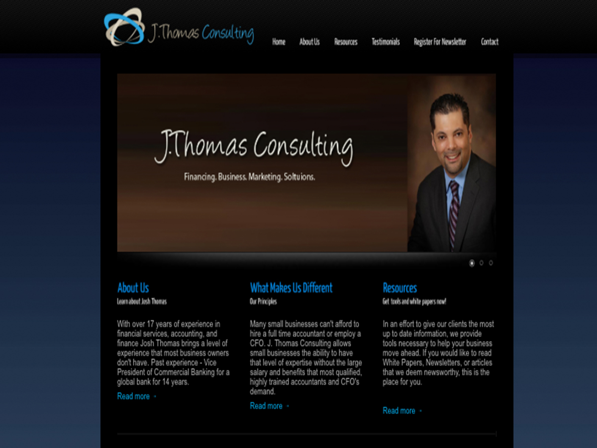 J.Thomas Consulting Website